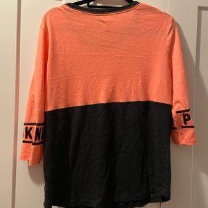 PINK Victoria's Secret Tops - 3/4 length tshirt